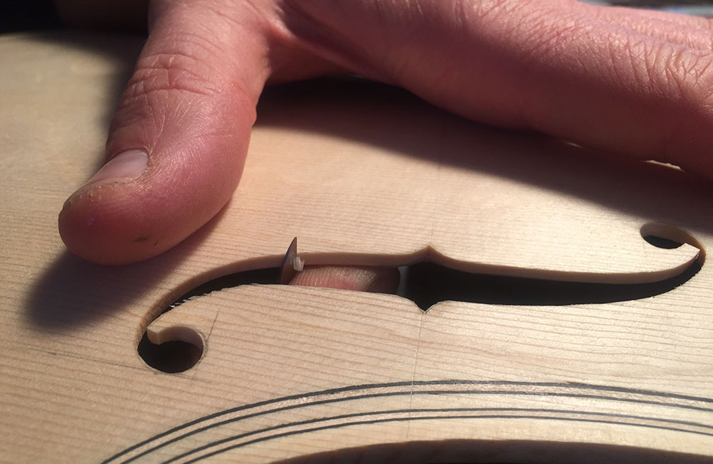 Violinmaking Designing the Sound Holes