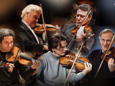 Violinists Turned Conductors