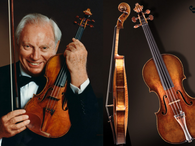 The Violins of Isaac Stern