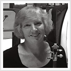 Violinist Stacy Wetzel