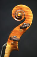 Eric-Benning-Bergonzi-Violin-2015-Scroll