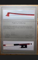 Charles-Nicholas-Bazin-Violin-Bow-1895-Certificate