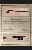 Victor-Fetique-Violin-Bow-1920-25-Certificate