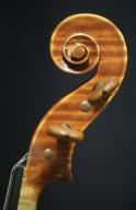 David-Wiebe-2000-Violin-Scroll
