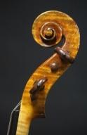 Franciscus-Marie-Pupunatus-Violin-1839-Scroll