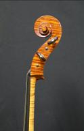 Hans-Nancy-Benning-Cello-1994-Scroll