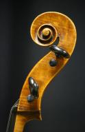 Raffaele-Antonio-Gagliano-Cello-1816-Scroll